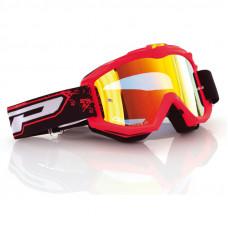 Купить PROGRIP Маска / очки кроссовые RACE LINE 3204 + MULT. LENS-FLUO.