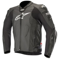 ALPINESTARS Мотокуртка кожаная MISSILE LEATHER JACKET T/A COMP